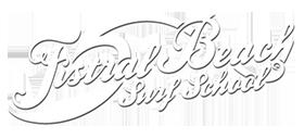 Fistral Beach Surf School Sticky Logo Retina