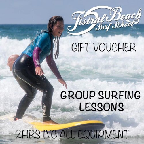 Group Surfing Lessons Gift Voucher