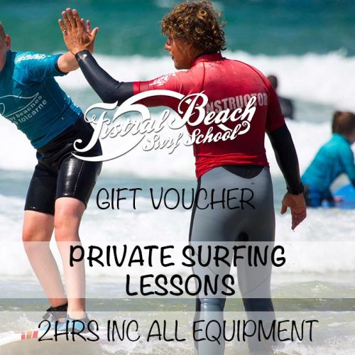 PRIVATE SURF LESSONS GIFT VOUCHER