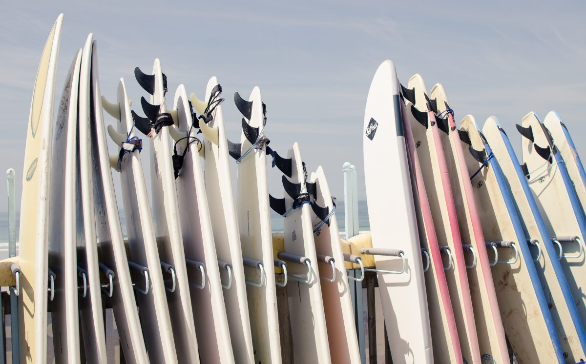 improver surfboards