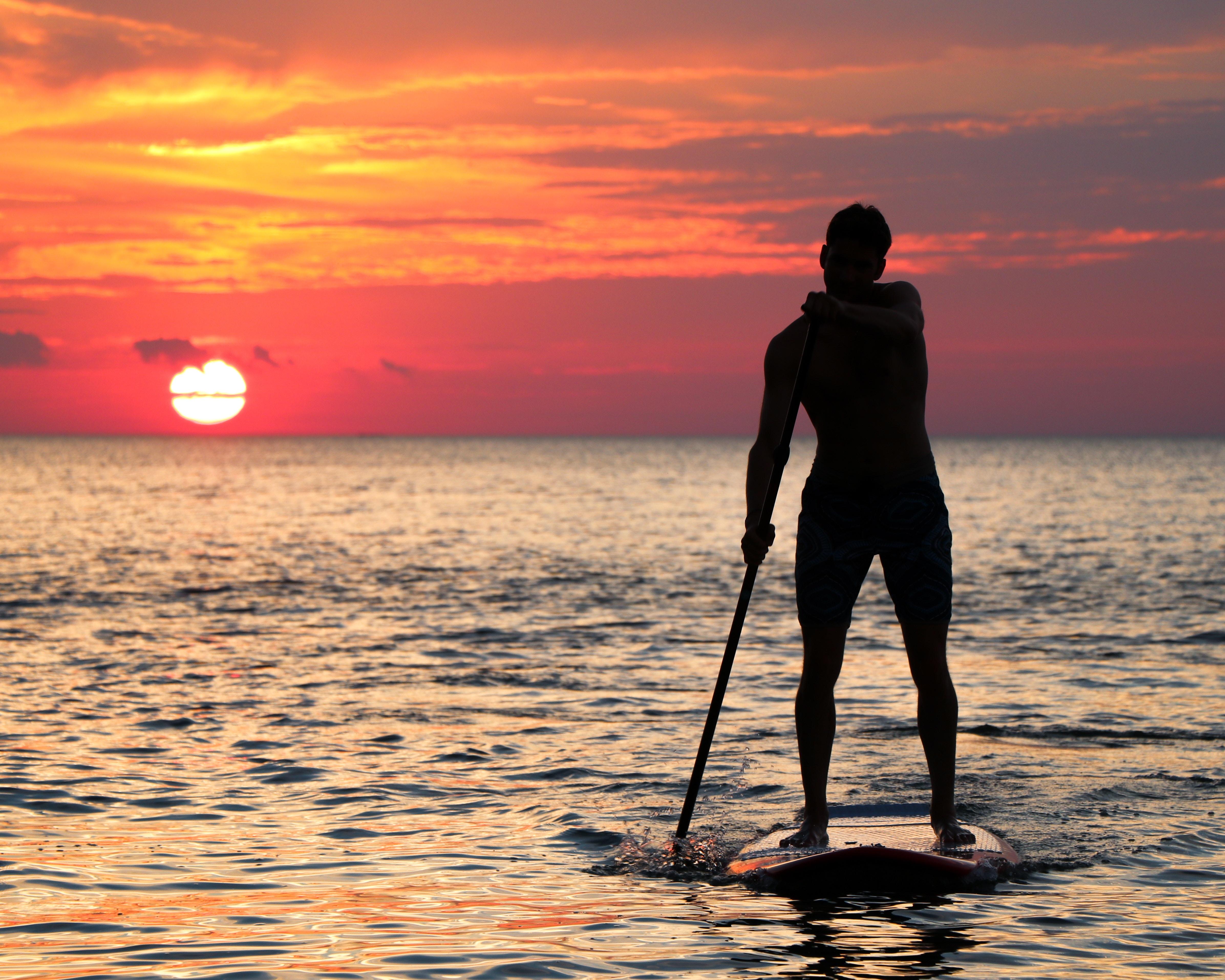 Fistral Beach SUP