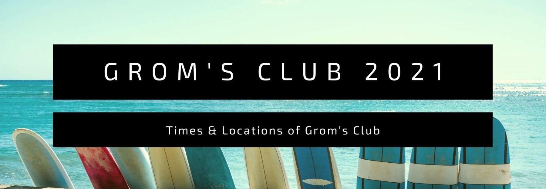 fistral beach groms club