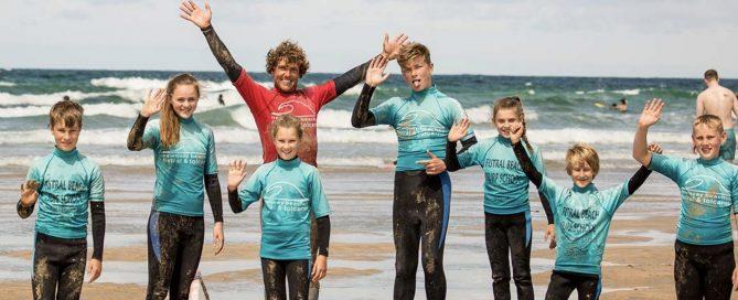 fistral beach surf groms